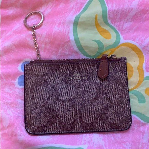 Coach key pouch never used